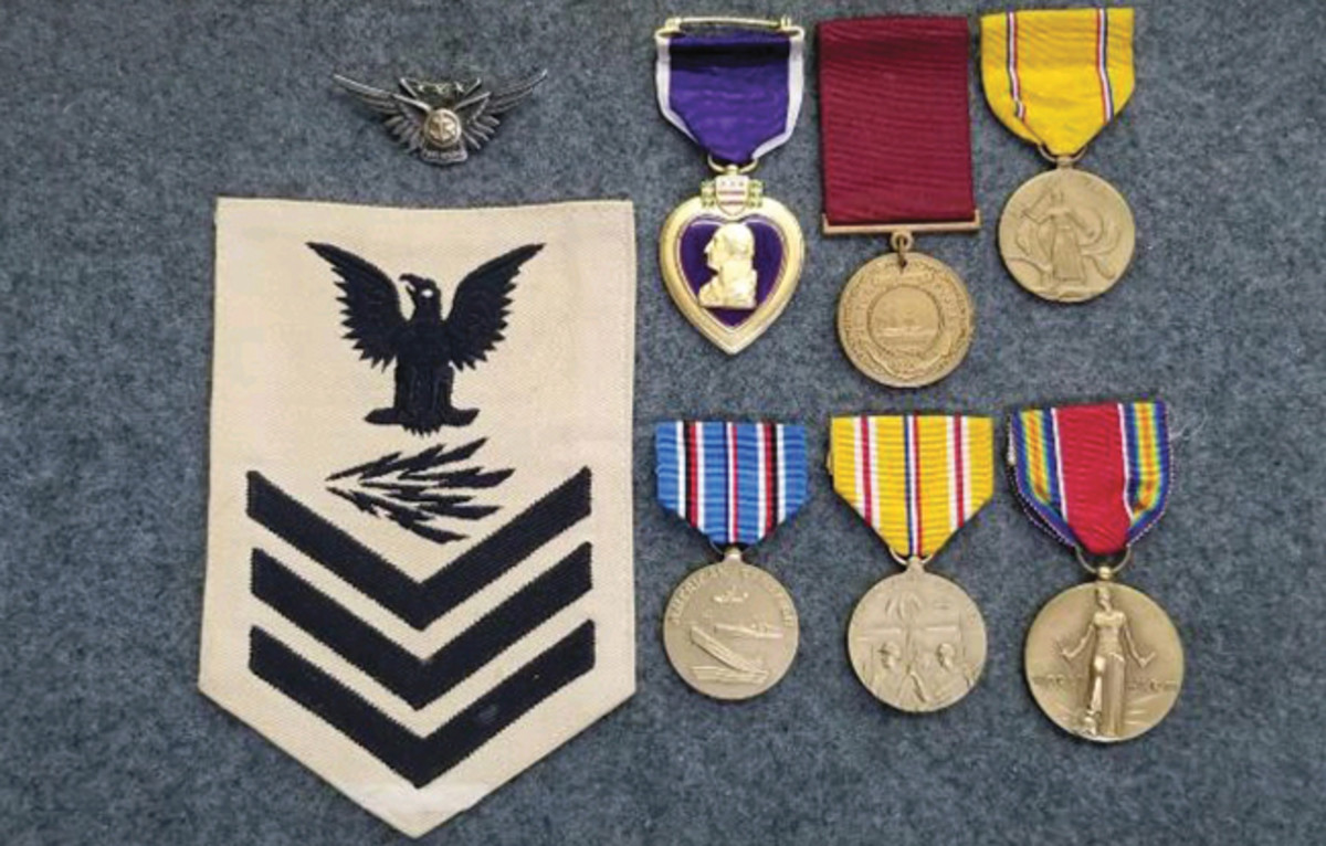 Medals and insignia of William Cicero Miller.