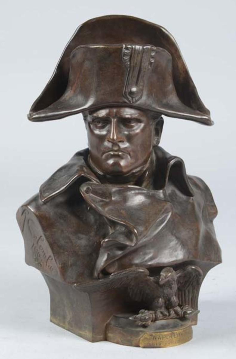 Napoleon Bronze Bust
