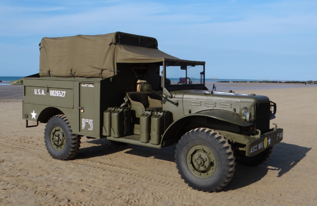 This rare Dodge WC-60 was located in Minnesota before returning to Europe in time to display—fully restored—on Juno Beach for the 70th Anniversary of the D-Day Invasion.