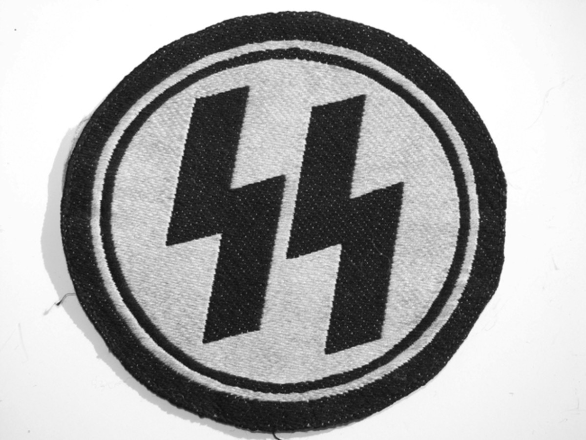 SS insignia was often worn on athletic shirts during sporting events