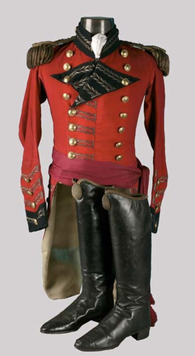 British General Officer's Coatee with Sash