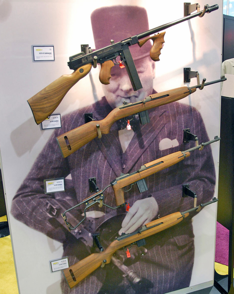 Thompson Guns introduced its newly made line of M1carbines and Thompson submachines.