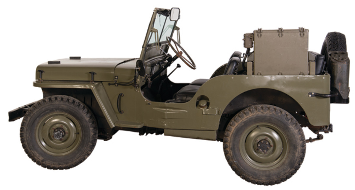 1945 Production Military Style Ford GPW Jeep