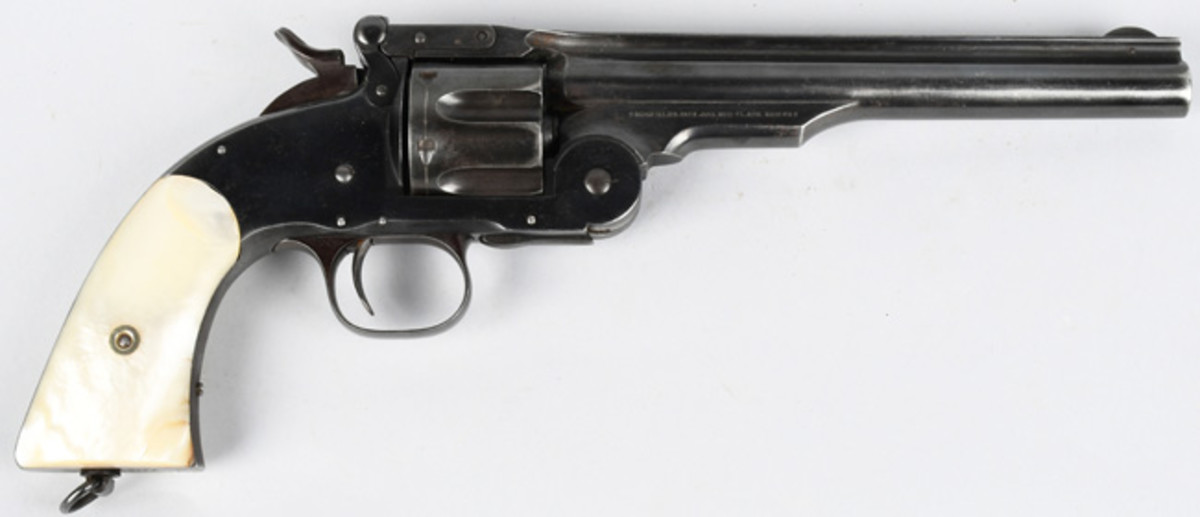 Smith & Wesson Schofield 2nd Model .44 caliber military-issue revolver, $6,600
