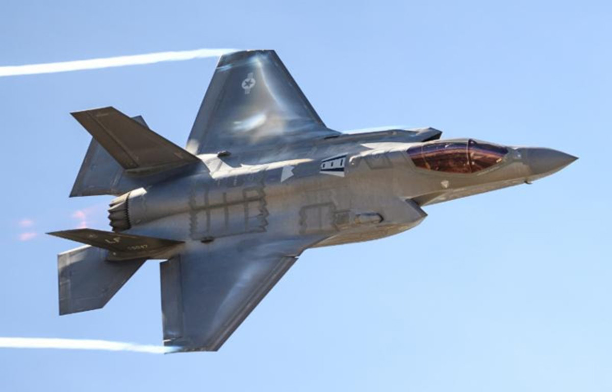 F-35A Lightning II – Courtesy USAF