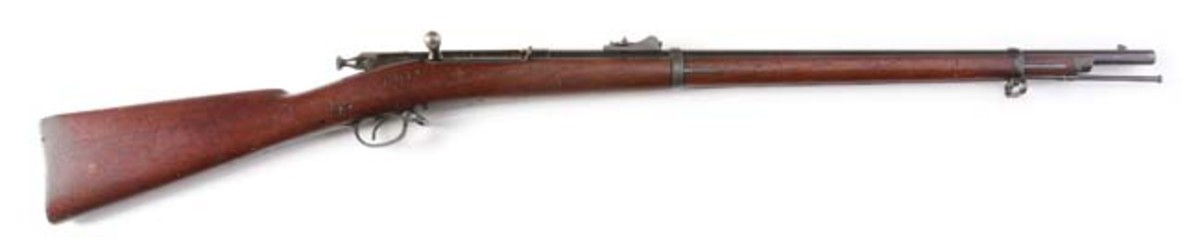 Rare, high-condition US Springfield Model 1882 Caffee-Reece bolt-action rifle, $6,400