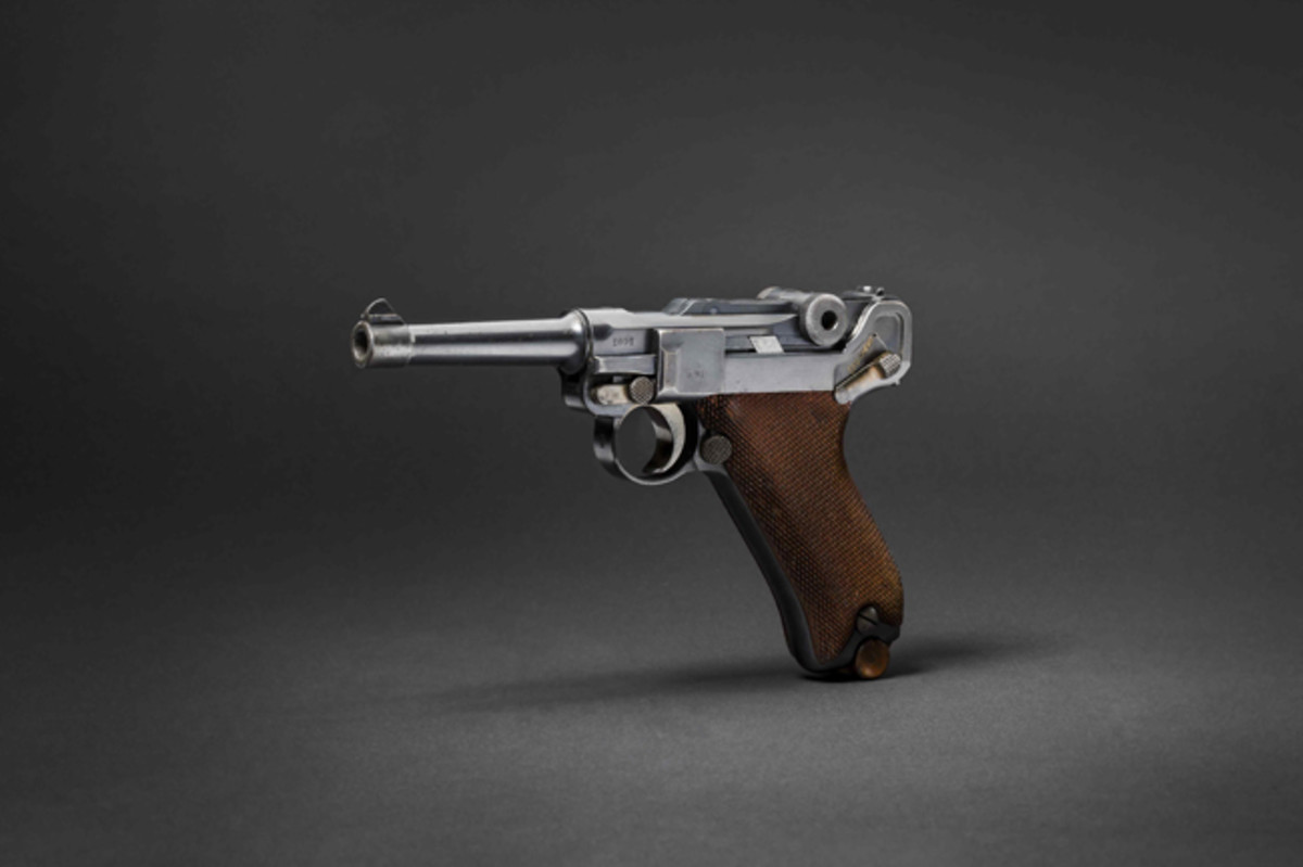 Collection Lux: A Pistol 08, Erfurt 1911, police German South West Africa.