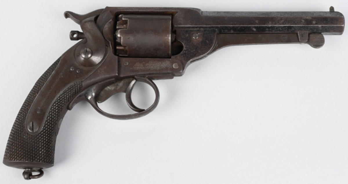 Civil War Confederate Kerr-patent .44 caliber revolver, $5,160