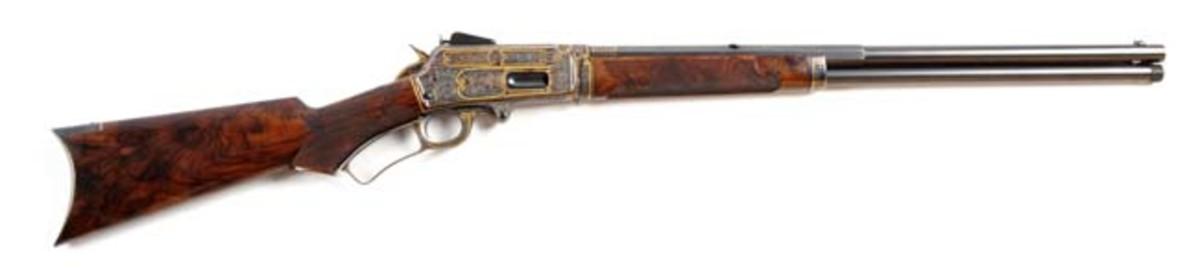 Exhibition Grade Engraved Marlin 1895 Rifle