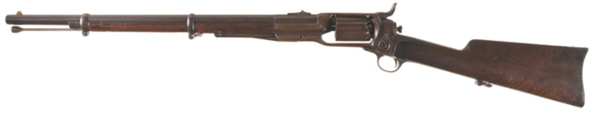Scarce Colt Model 1855 Artillery Style Revolving Percussion Carbine SOLD $10,350