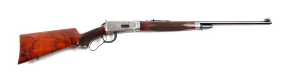 Custom Deluxe Engraved Winchester Model 55
