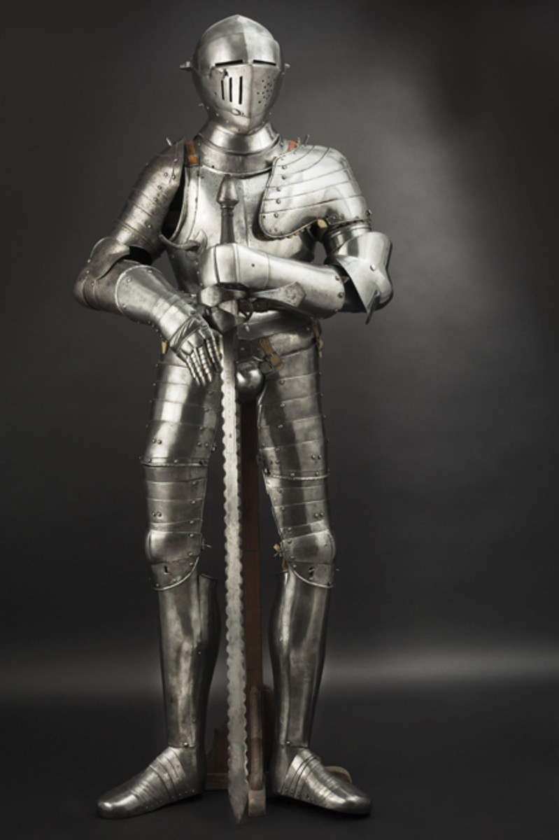 German composite full armour, Augsburg type, 2nd half of the 16th cent.