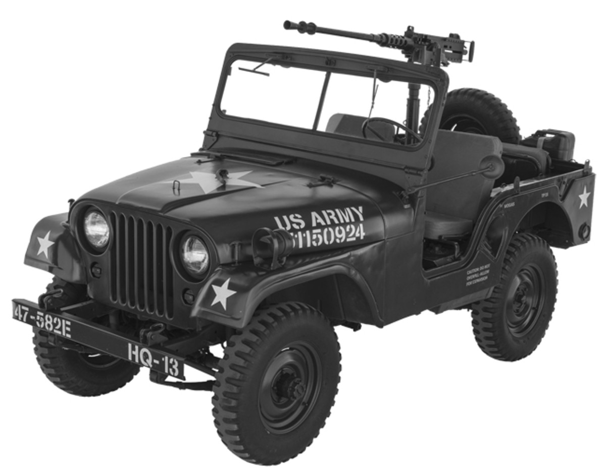 M38A1 is a popular vehicle because of its comfort and reliability.