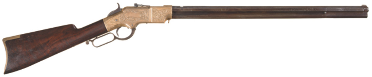 Engraved New Haven Arms Company Henry Lever Action Rifle SOLD $23,000