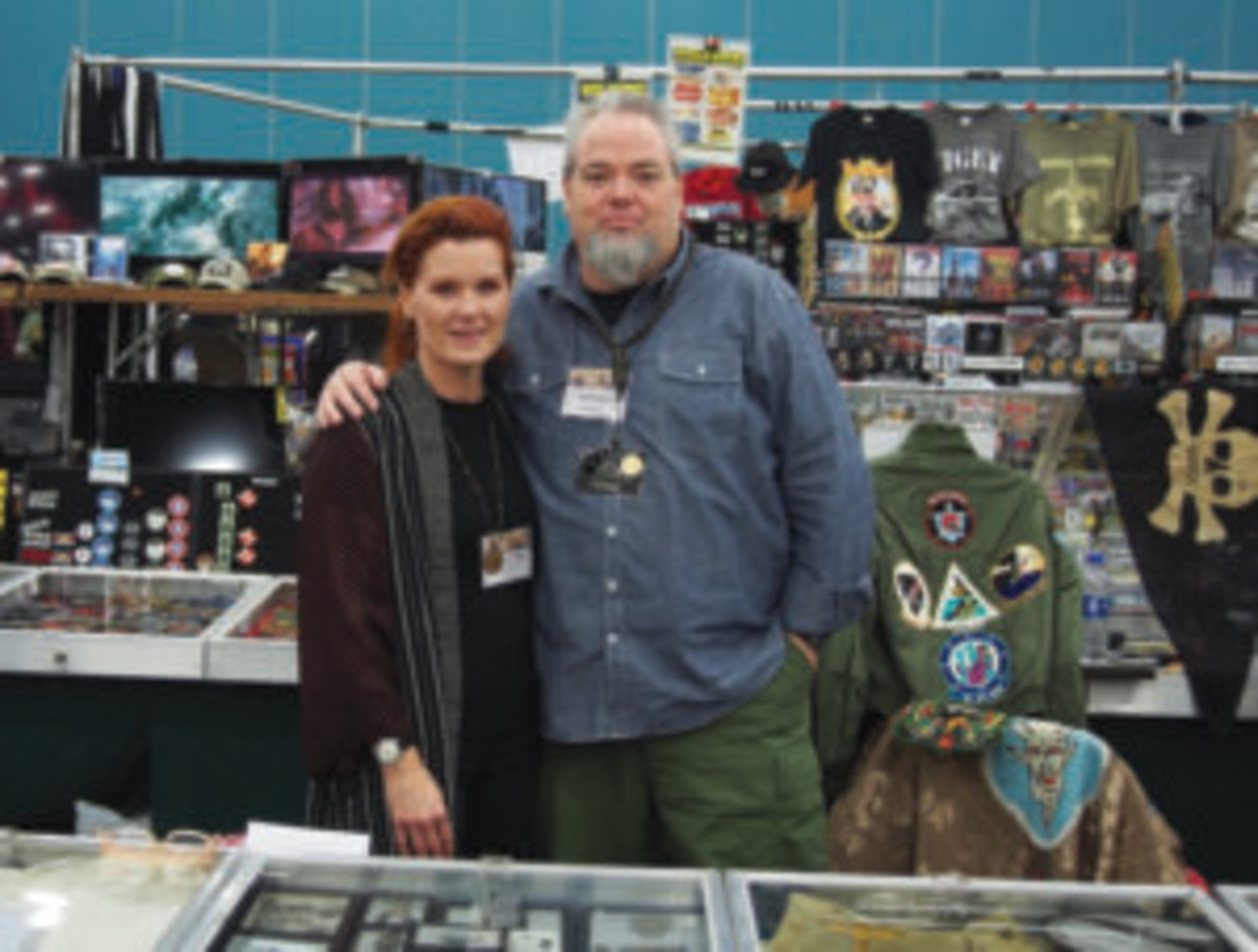 "Danielle Chatt is the director of the annual West Coast Historical Militaria Collectors Show in Pomona, California. She and her husband, Bob, run Vintage Productions, a military and vintage clothing ""appointment-only"" shop in Southern California."