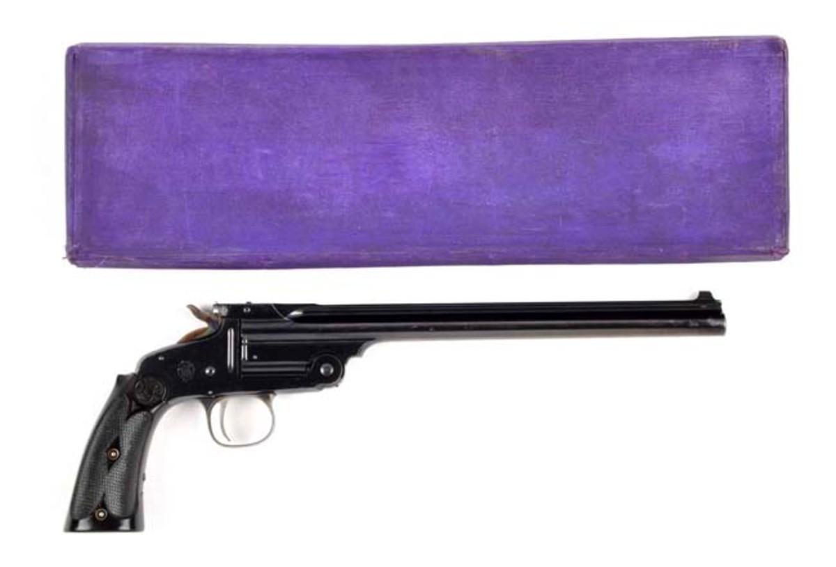 Boxed S&W Second Model Single Shot Pistol