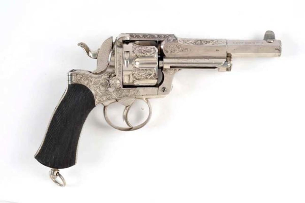 Gastinne Renette Engraved Revolver
