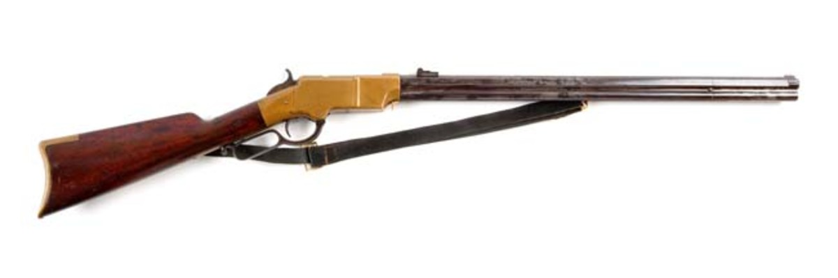 Documented Civil War Henry Repeating Rifle