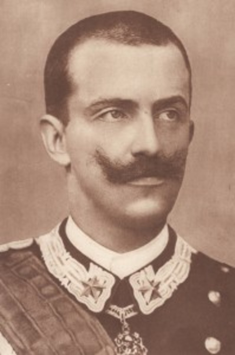 King Victor Emanuel III of Italy instituted the Cross for War Merit in January 1918, ten months before the end of the war.