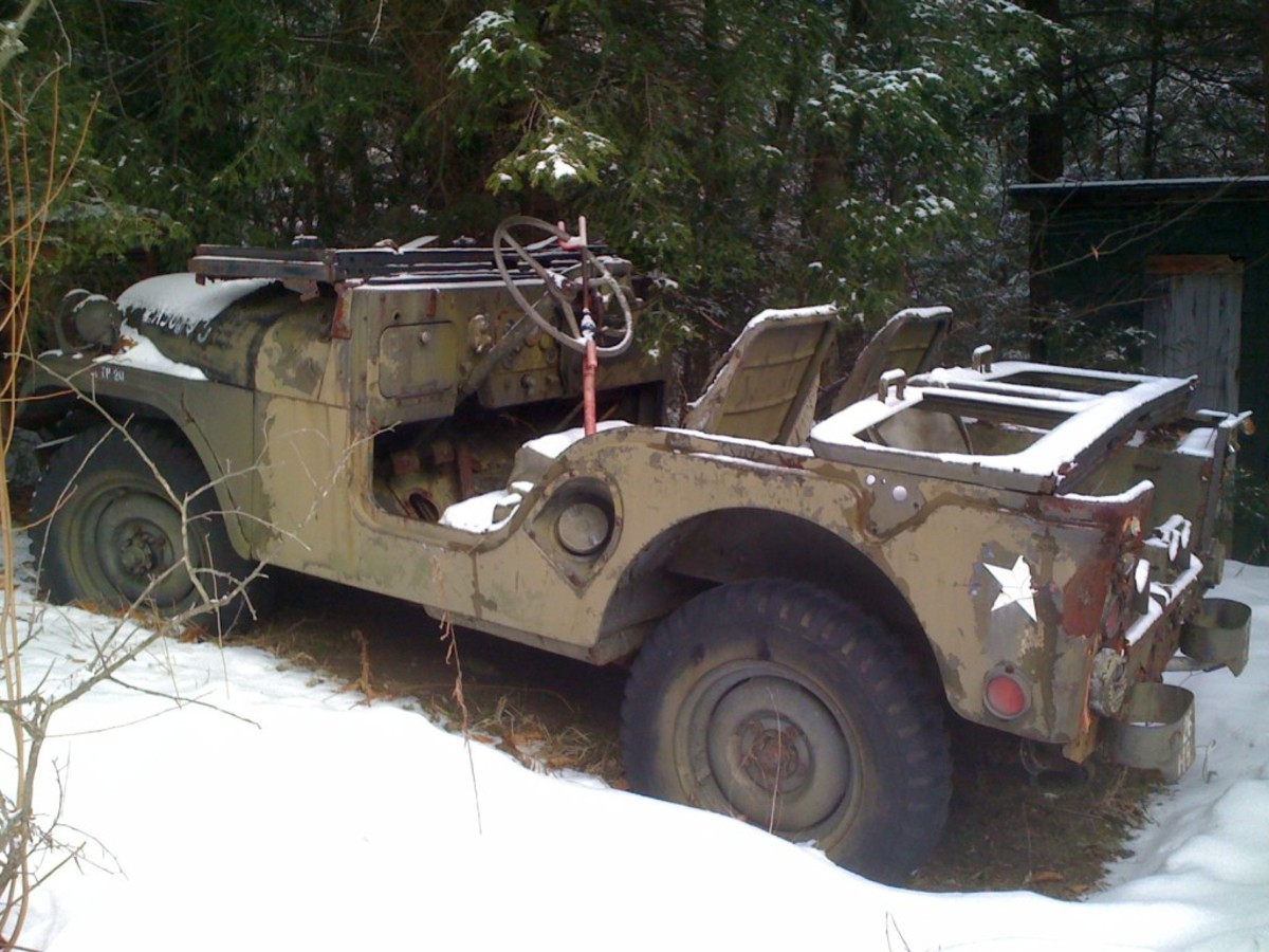 A conversation with a friend led to the discovery of this unrestored 1952 M38A1C.