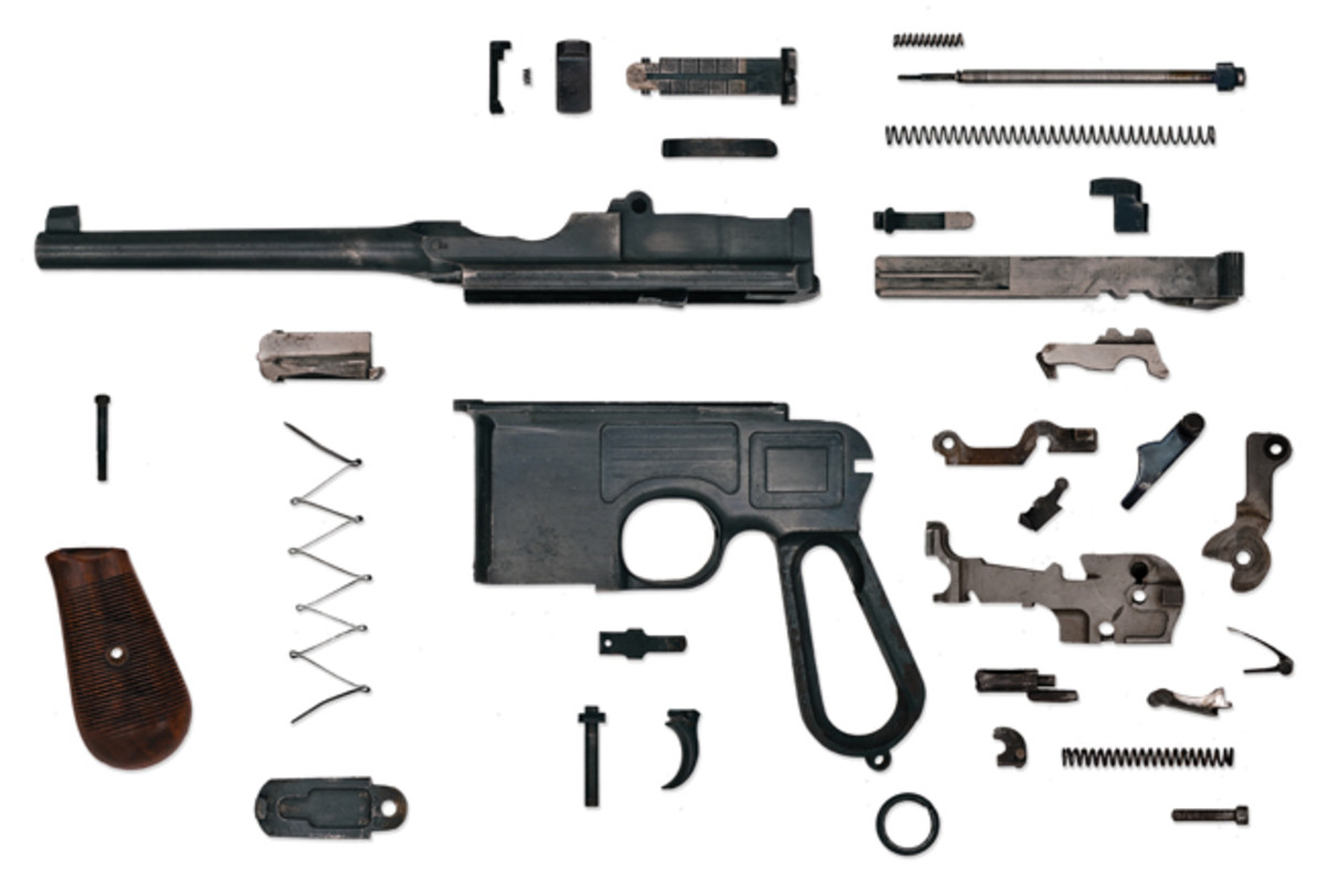 "While it may be a great learning experience or even be the basis for a neat display, disassembling your weapon is not a good idea — if your goal is to maintain its value. Each time you disassemble any weapon, you run the risk of dinging screws, scratching wood, or damaging metal. If you are investing in your firearms, ""the best thing to do is to do nothing."""