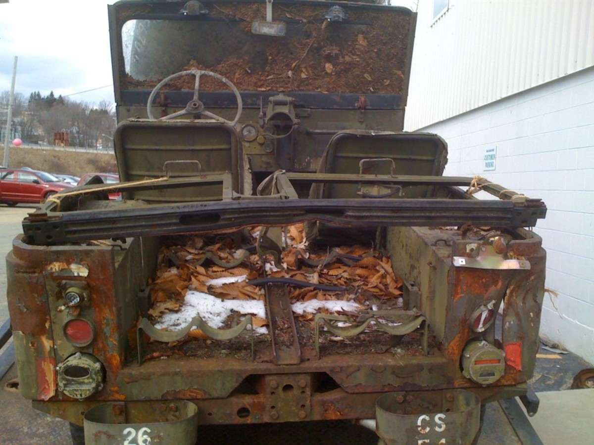The restoration would not be without its challenges—years of outdoor exposure had reduced much of the interior to rusted metal.