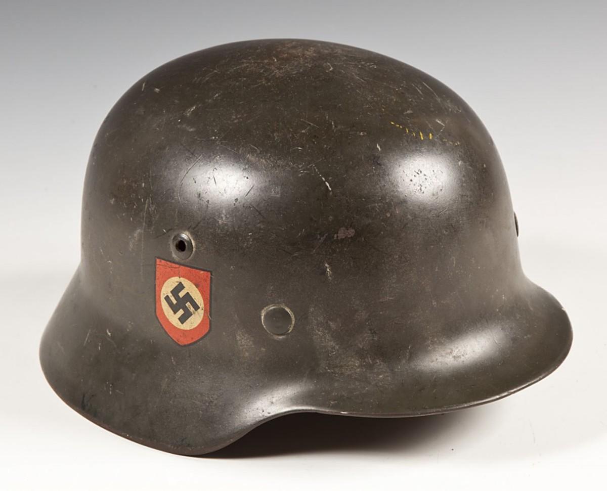 WWII Nazi Heer helmet ($1,100)