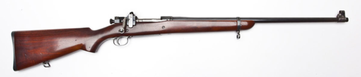 US Springfield Model 1903 Sporter (estimate $4,000-$4,500)