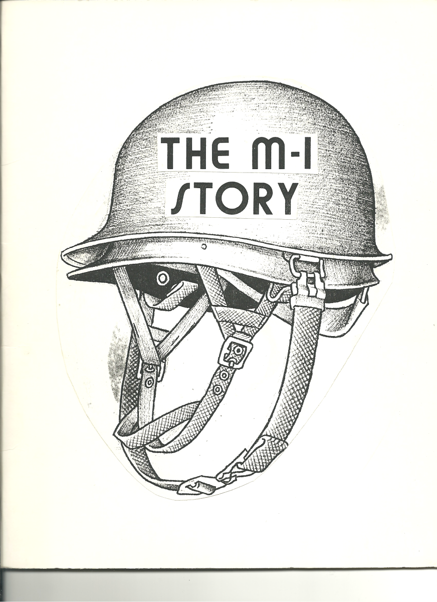 Another helmet cover mock-up – suggesting that perhaps Tubbs intended on not one but two books as this one suggests it is about the M1 helmet specifically