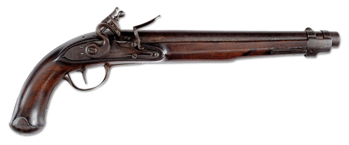 1809 Dates Virginia Manufactory 1st Model Pistol, Sold for Auction World Record Price