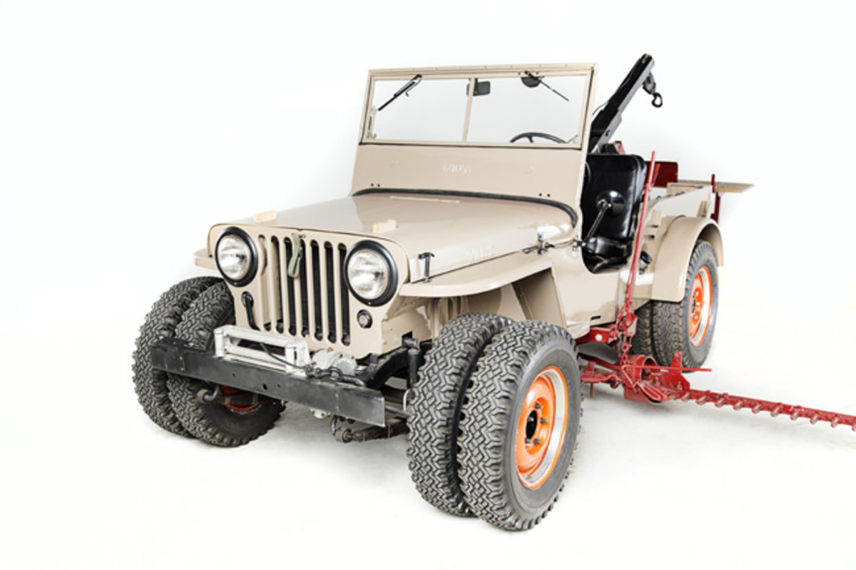 Omix-ADA 1946 Willys CJ-2A Farm Jeep (High Res)