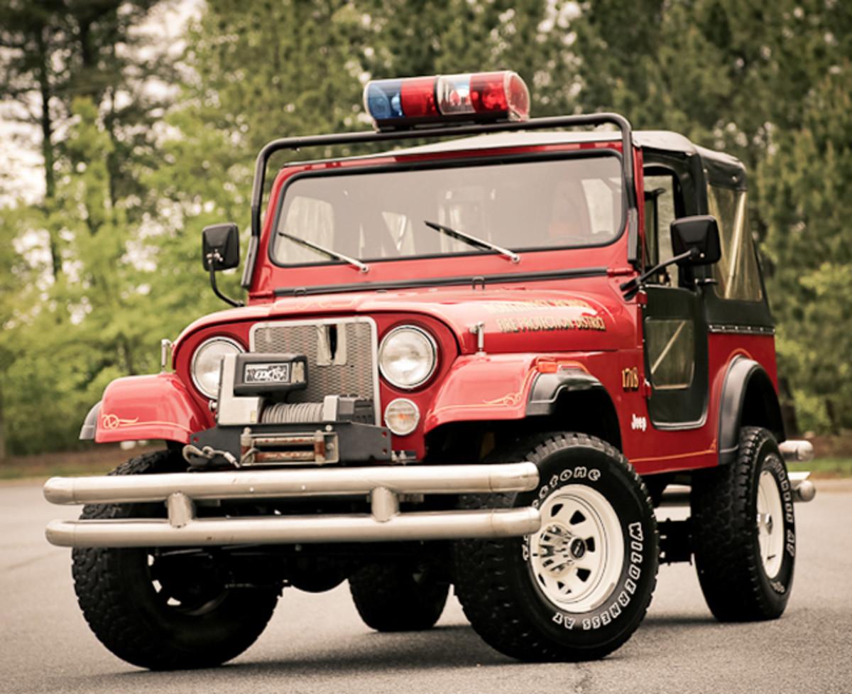 1982 Jeep CJ-7 Fire Truck
