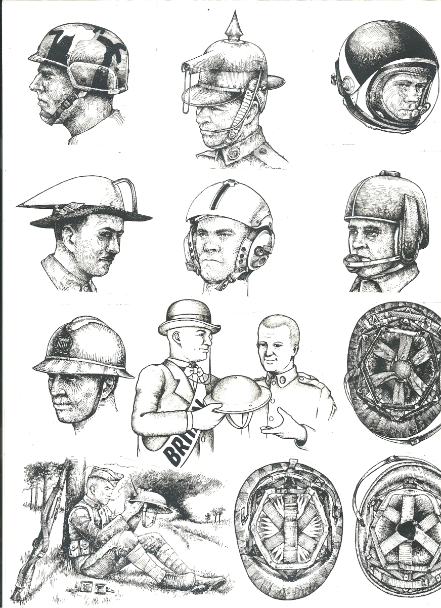 A number of illustrations that were likely to fill out the pages of Tubbs unpublished book. These were likely produced in the late 1970s by Larry Sutherland