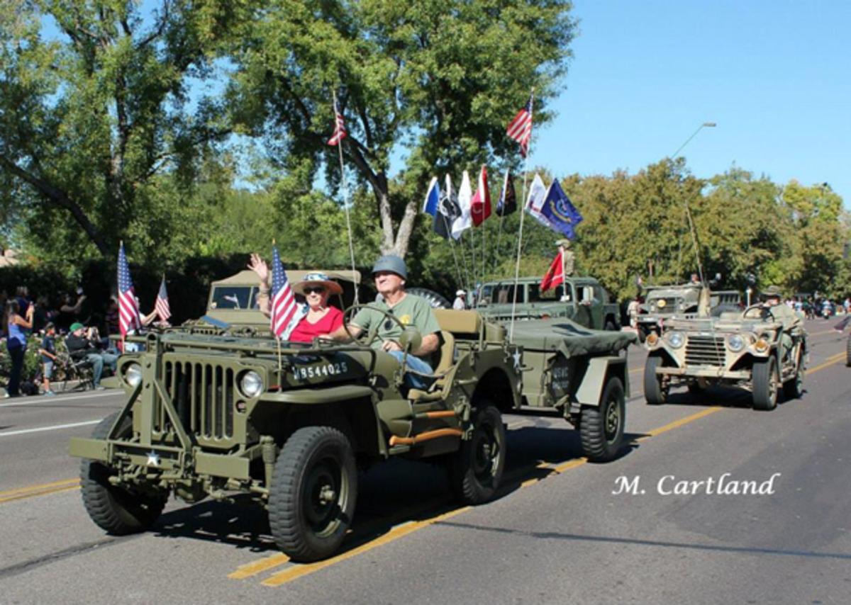 2014 Phoenix Veteran's Day Parade.