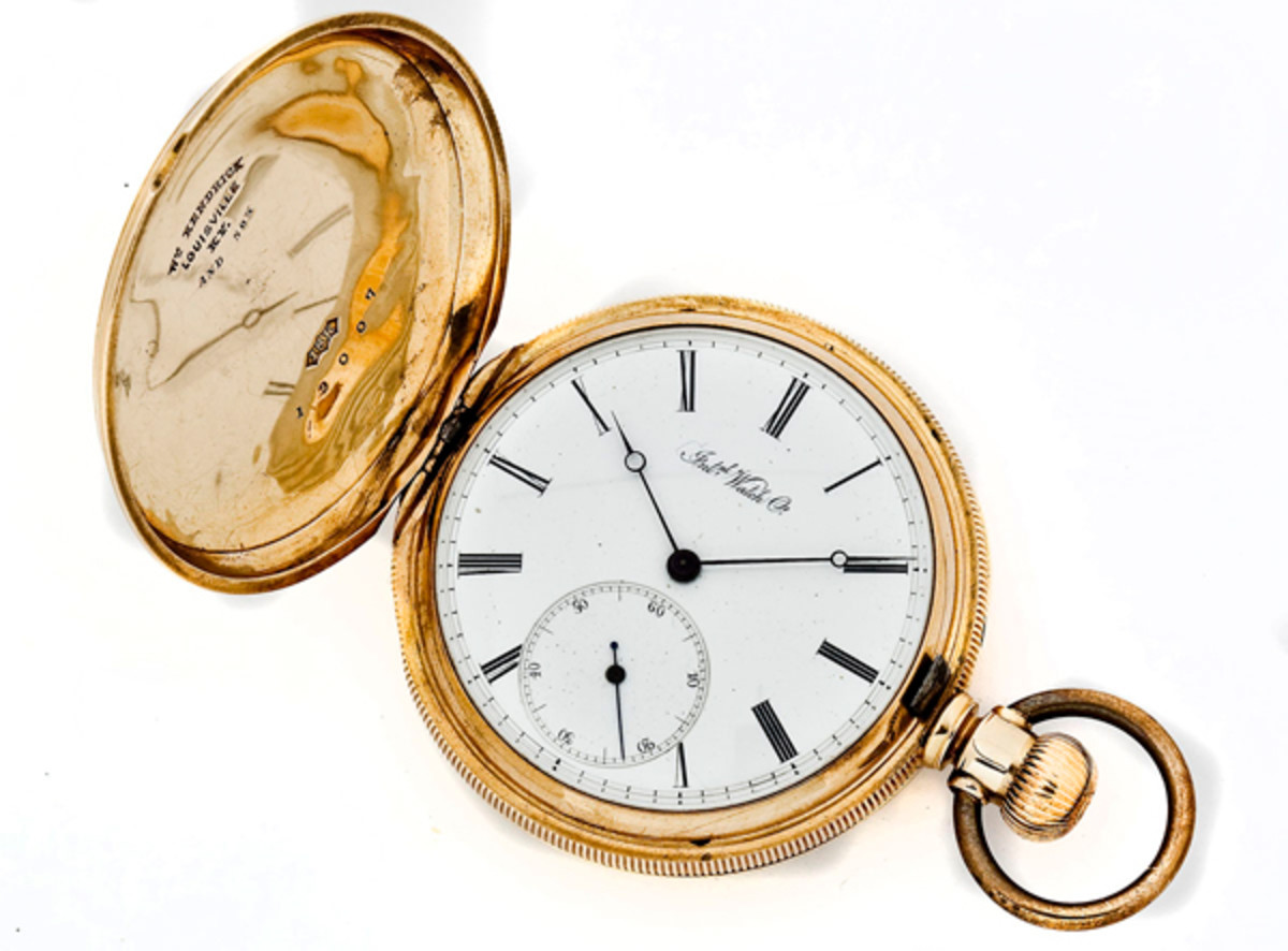 1868 West Point Graduation Pocket Watch (estimate $2,000-$2,500)