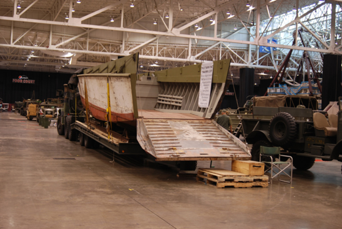 """In 2012, the Ohio Motorpool purchased a """"true barn find"""" — a 1944 LCVP. It had been sold as surplus by the US Navy in 1947."""