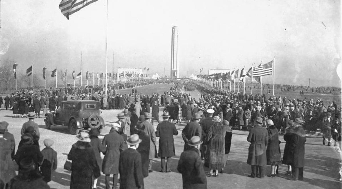 Liberty Memorial 1926 dedication.