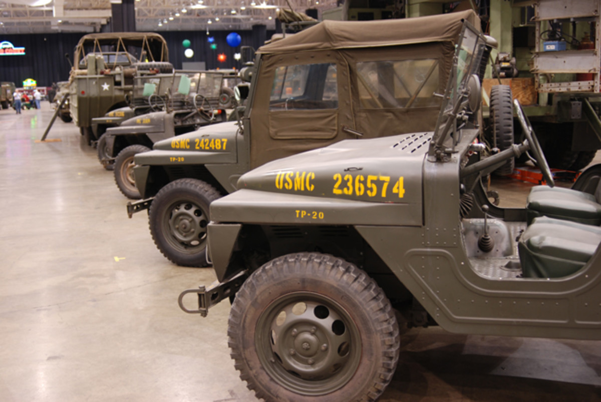 In addition to many other vehicles, Tom Price displayed the evolution of the Mighty Mite.