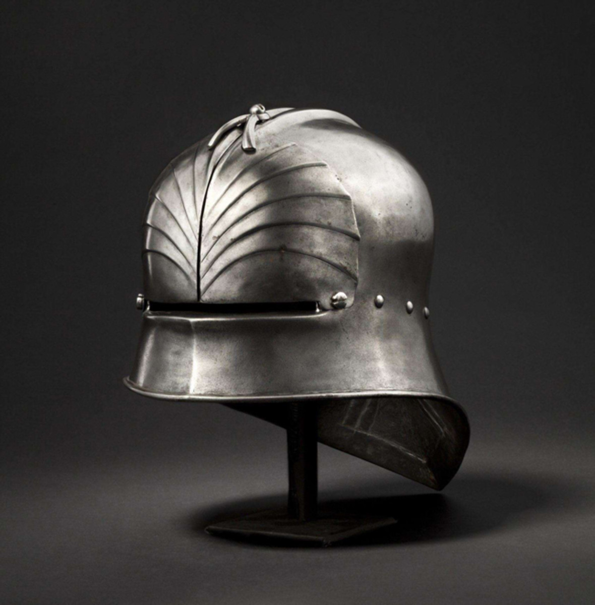 A Southern German late Gothic sallet, Innsbruck, circa 1490.
