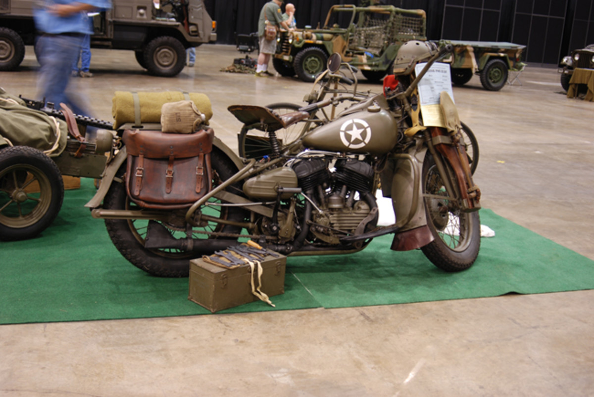 Barry Welsh's 1944 WLA received a Motor Pool Class GOLD.