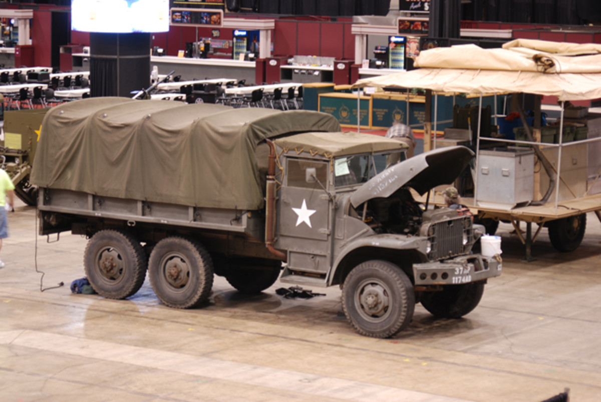 Chip Lytle's 1954 GMC M135.