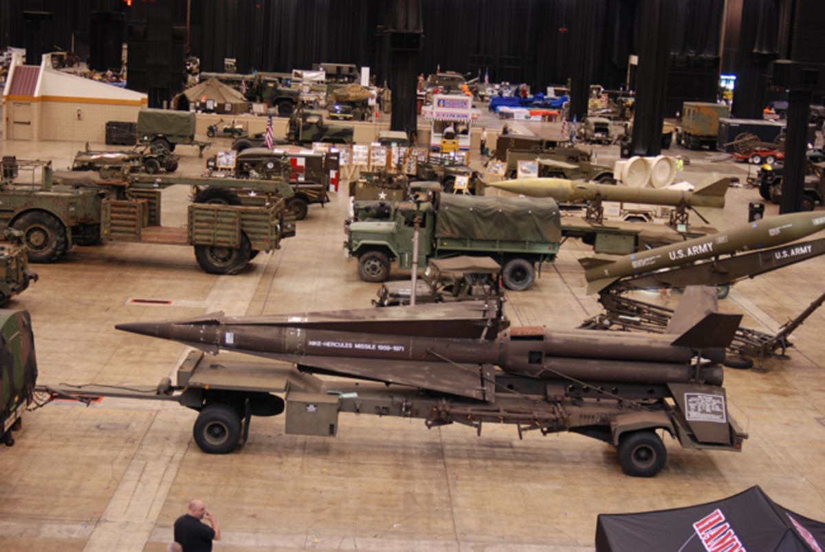 A sample of the Cheney Collection's Missile Defense. This collection took home the Hagerty Insurance-sponsored Young Judge's Choice Award.