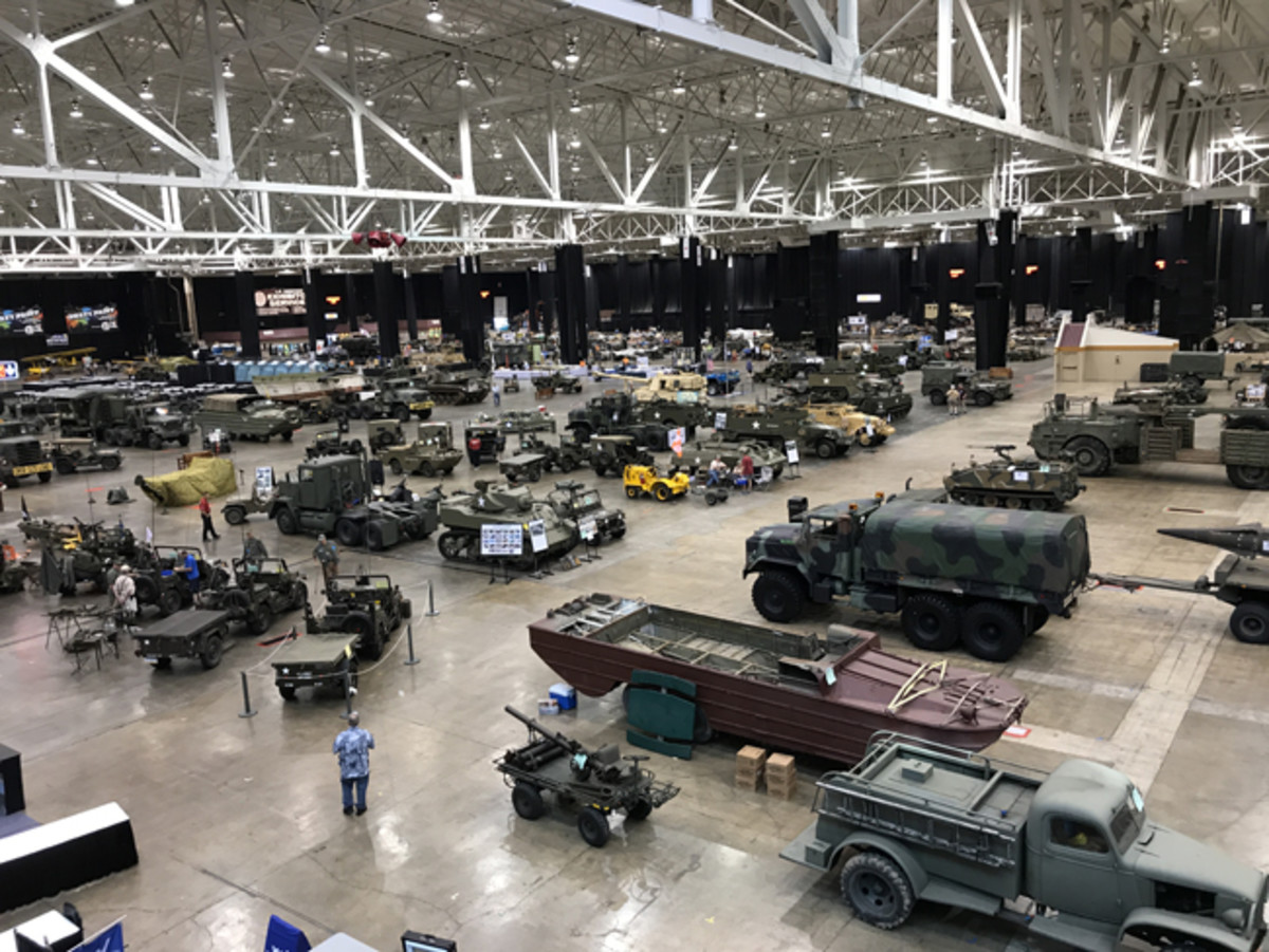 The 2017 Military Vehicle Preservation Association's Annual Convention occurred in the Cleveland I-X Center. Formerly the Cleveland Tank Plant, the massive facility was well-suited to host the largest Convention in the MVPA's 41-year history.