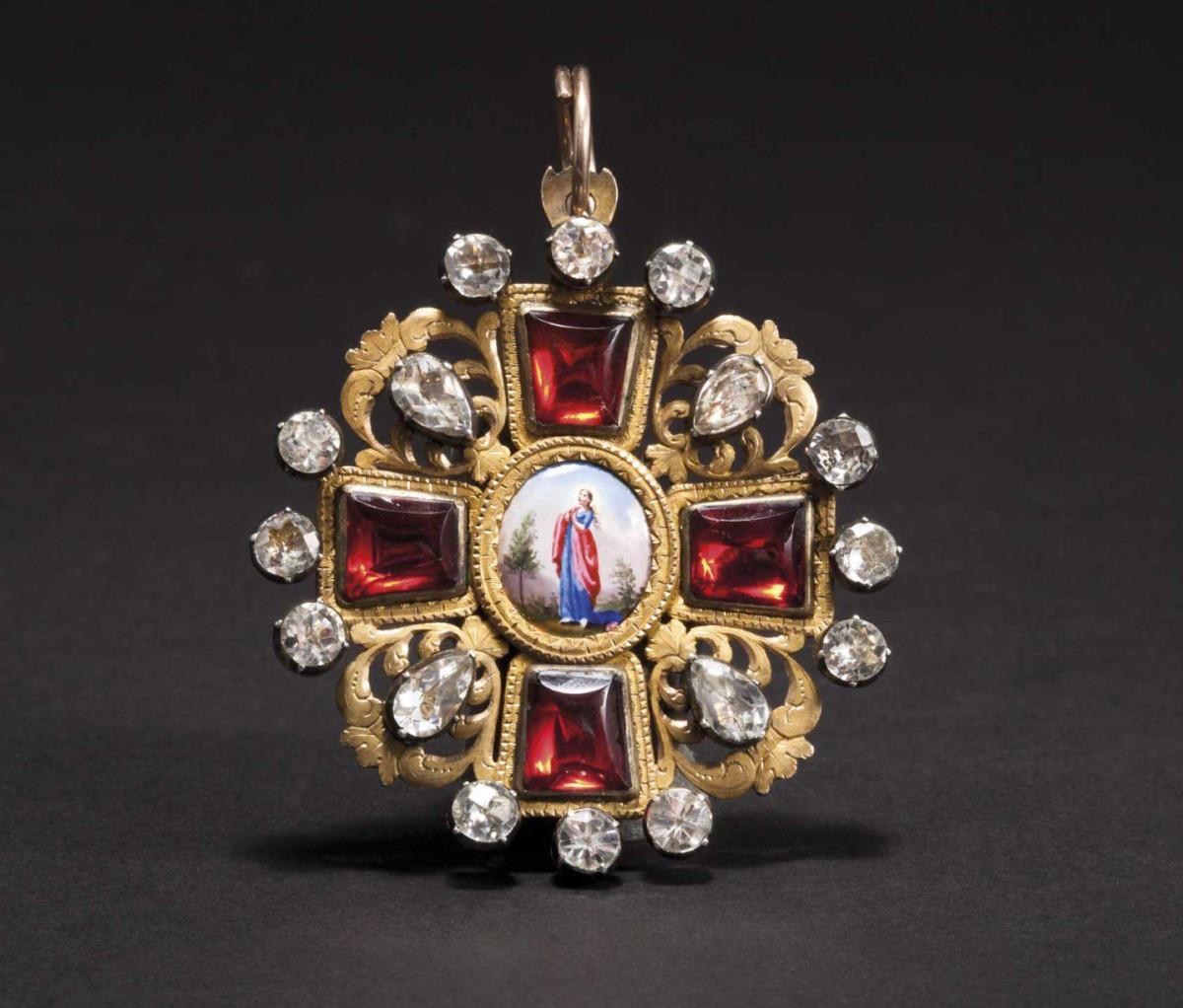 Order of St. Anna - an Order Cross 2nd Class, dated 1797.