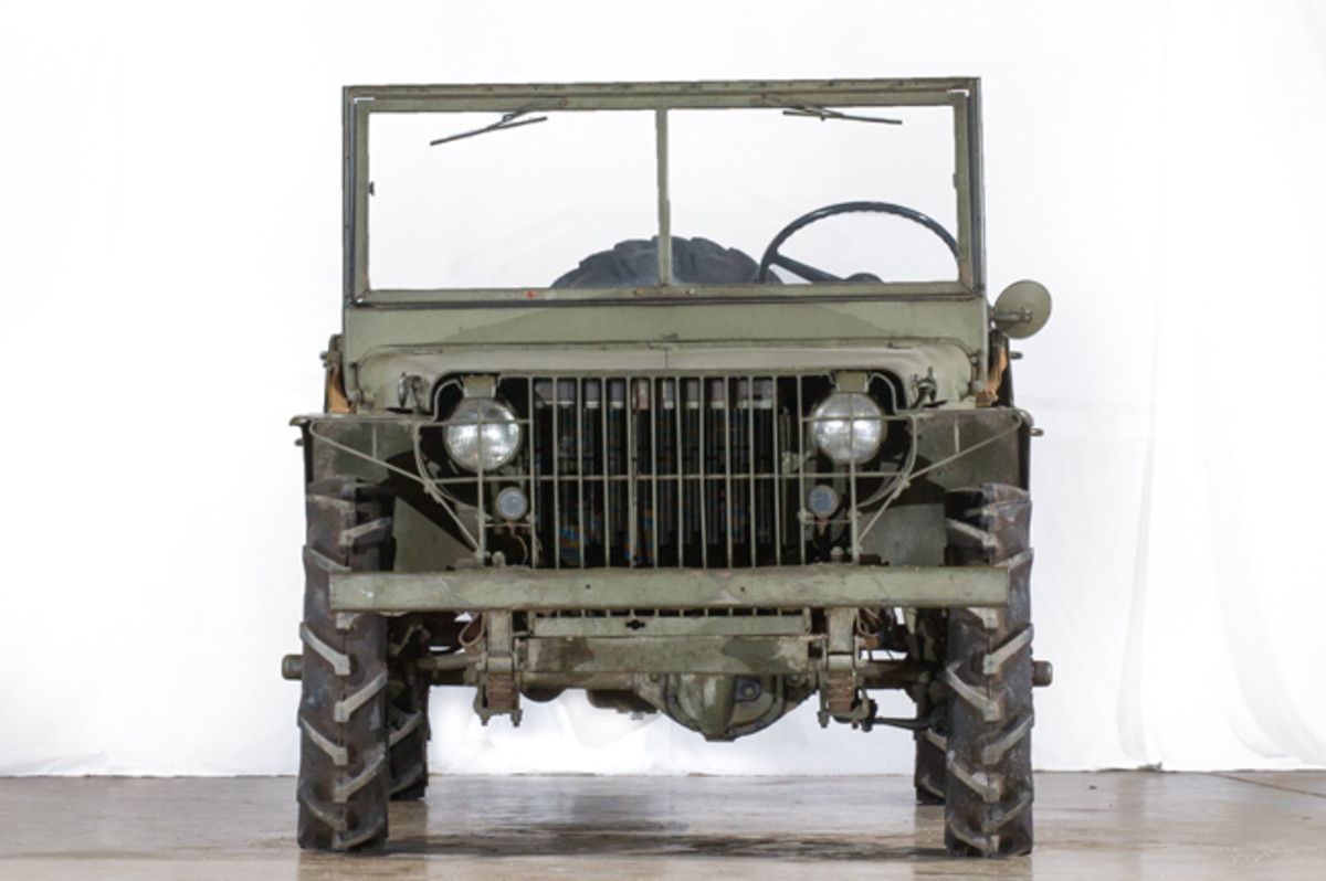 """The 1940 Ford Pilot Model GP-No. 1 Pygmy is the first of the """"jeeps"""" built to feature the now iconic flat grille design with incorporated headlights and vertical slats. This design was later adopted by Willys-Overland Motors, Inc. in the final WWII production """"jeep,"""" the MB in 1941."""