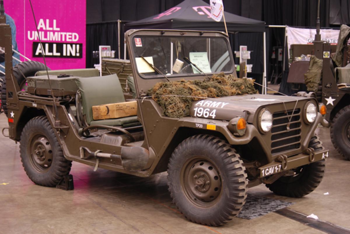 Tom Gray's 1977 M151A2.