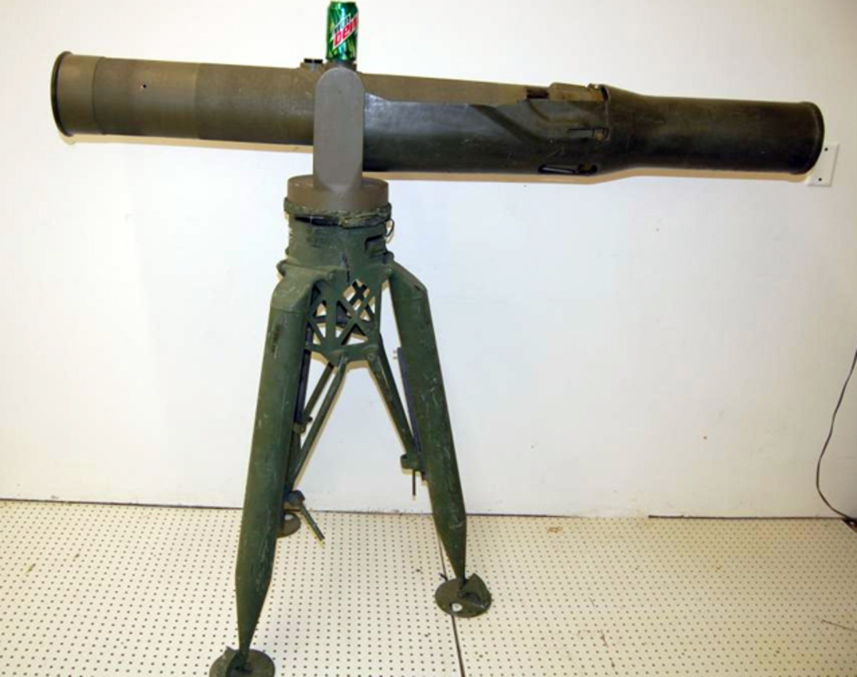Missile launcher M159A1 sold for $1,000.