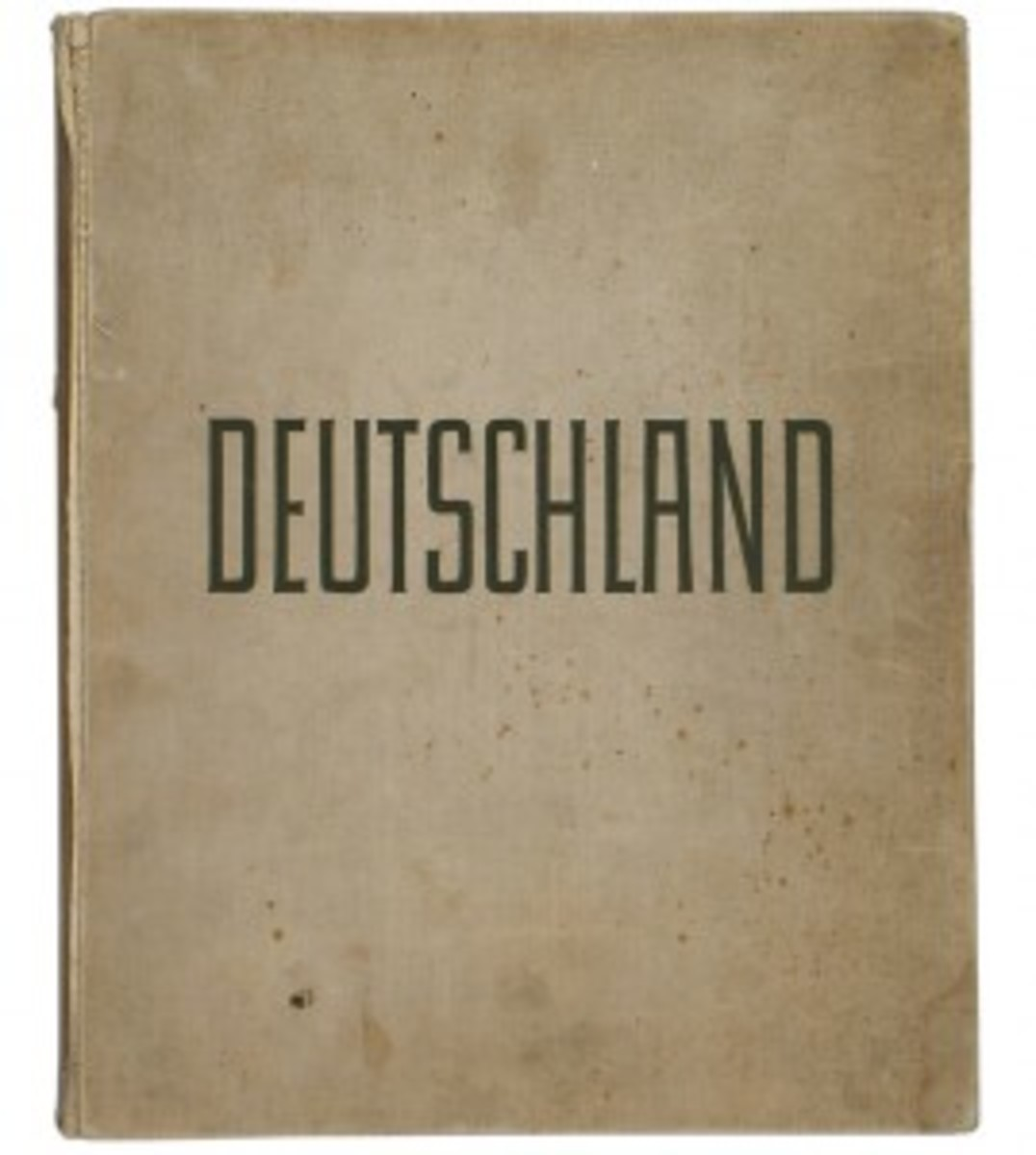 Adolf Hitler's personal proof copy of the large-format pictorial book Deutschland ($2,473).