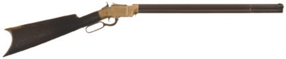 LOT 1: New Haven Arms Company Volcanic Lever Action Carbine with Desirable 21 Inch Barrel
