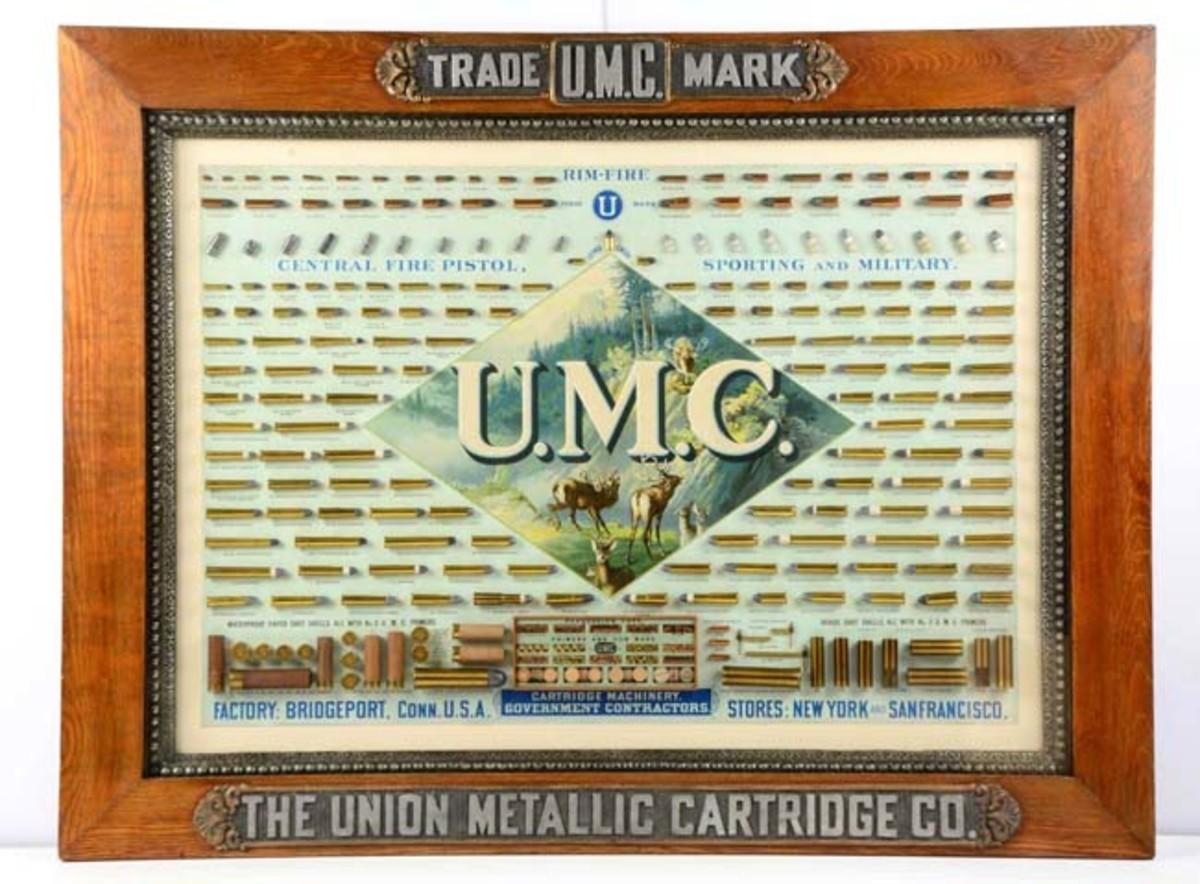 UMC Framed Cartridge Store Display Board